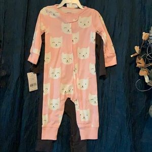 Carter's infant girl two outfits